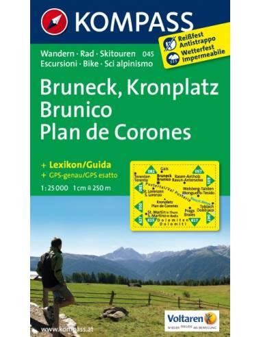 KK 045 Bruneck - Kronplatz túra-, sí-...