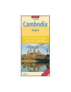 Kambodzsa - Angkor térkép -...