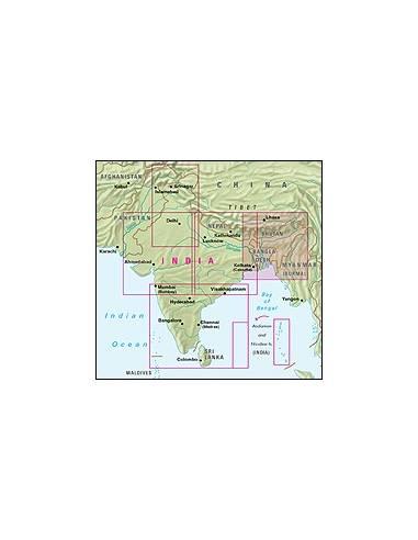 India észak-kelet: Banglades, Bhutan...