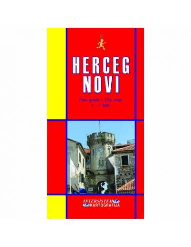 Herceg Novi térkép