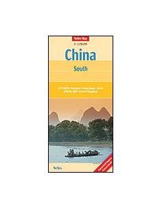 Kína Dél térkép - China :...