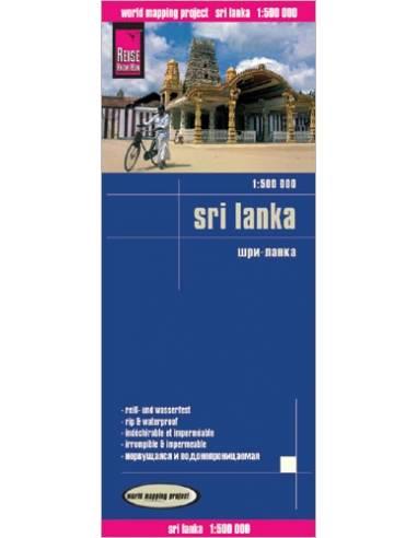RKH Sri Lanka térkép