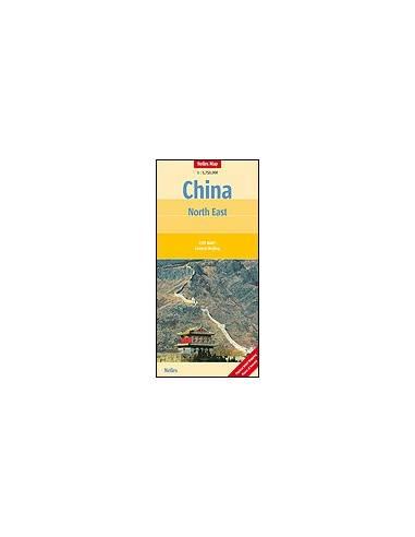 Kína Észak-Kelet térkép - China :...