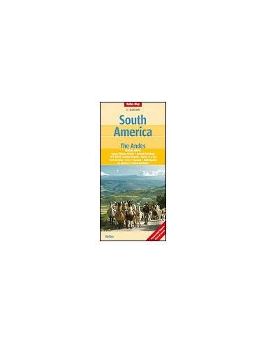 Dél-Amerika, Andok térkép - South...