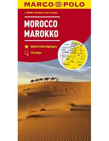 Marokkó térkép - Marco Polo