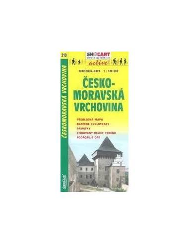 SC 210 Ceskomoravska / Vrchovina térkép
