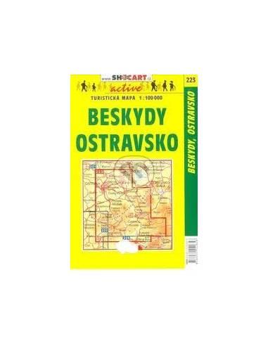 SC 223 Beskydy / Ostravsko térkép
