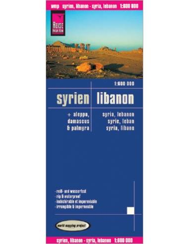 RKH Syrien, Libanon mit Aleppo,...