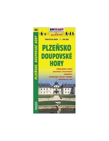 SC 206 Plzensko / Doupovské Hory térkép