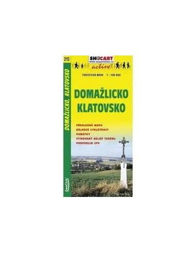 SC 212 Domazlicko / Klatovsko térkép