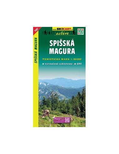 SC 1107 Spisská Magura túratérkép
