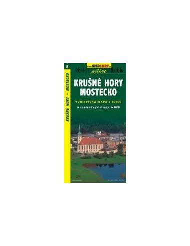SC 8 Krusné Hory / Mostecko térkép