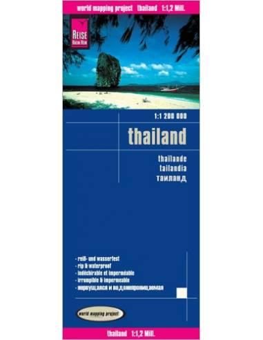 RKH Thailand (Thaiföld) térkép