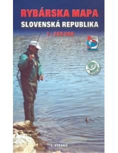 Szlovákia horgász téképe...