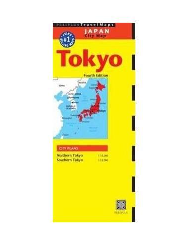 Tokyo city map - Tokió várostérkép