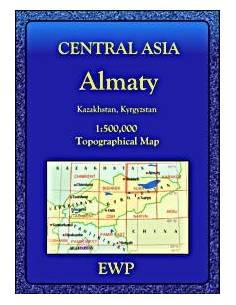 Közép-Ázsia topográfiai...