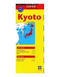 Kyoto és környéke térkép
