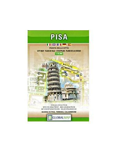 Pisa térkép (Global Map)