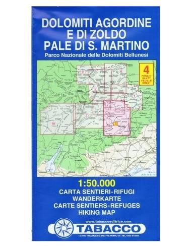 TO 4 Dolomiti Agordine E Di Zoldo /...