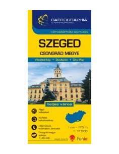 Szeged várostérkép -...