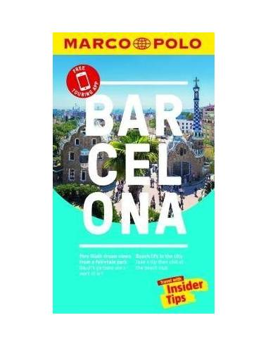 Barcelona travel guide+map - útikönyv...