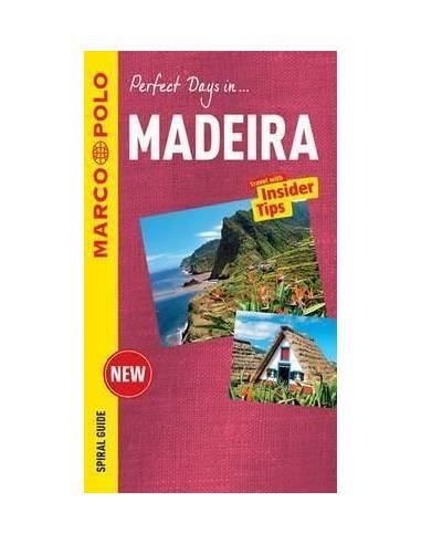 Madeira Spiral Guide + Map - útikönyv...