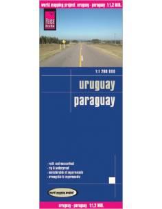 RKH Uruguay - Paraguay térkép