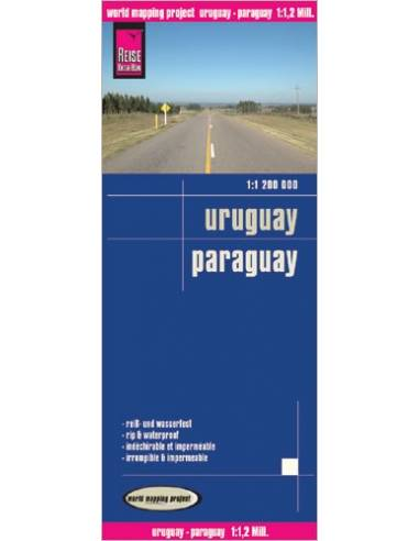 RKH Uruguay, Paraguay térkép