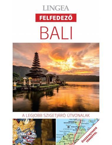 Bali - Felfedező útikönyv + térkép -...