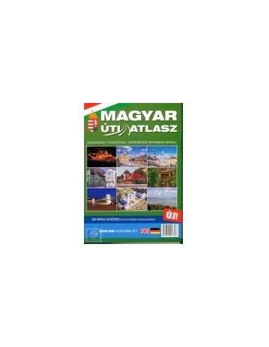 Magyarország úti atlasz