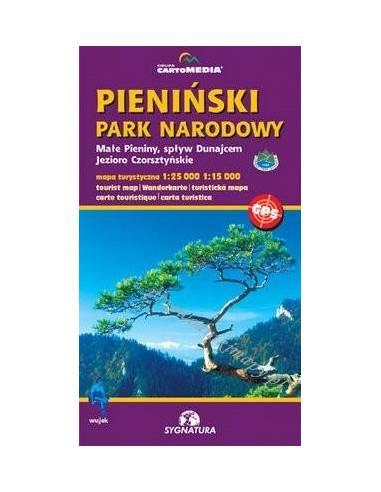 Pieninski Park Narodowy turistatérkép