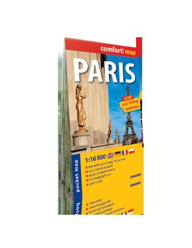 Paris - Párizs zsebtérkép - Comfort! map