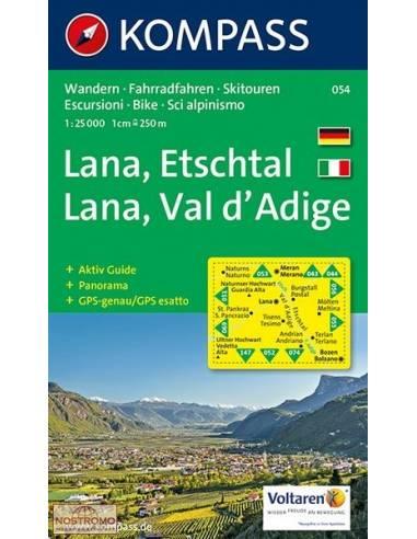 KK 054 Lana - Etschtal/Val d'Adige...