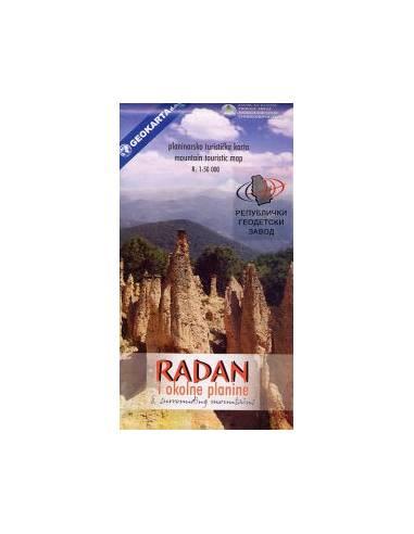 Radan és környéke turistatérkép