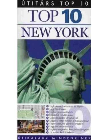 New York útikönyv Top 10 - Útitárs