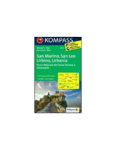 KK 2455 San Marino, San Leo, Urbino,...