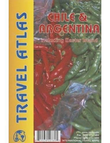Chile & Argentina atlasz