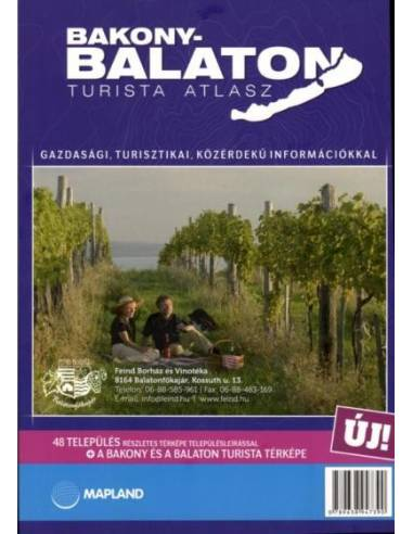 Bakony-Balaton turista atlasz