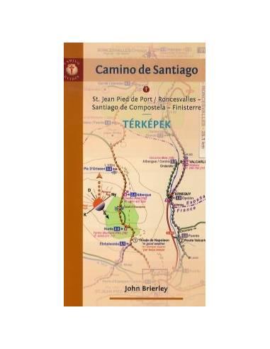 Camino de Santiago térképek