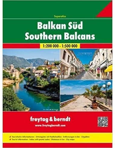 Balkán / Délkelet-Európa SZUPERATLASZ...