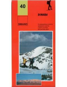 S 40 Dinara túratérkép