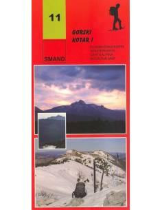 S 11 Gorski Kotar 1. térkép