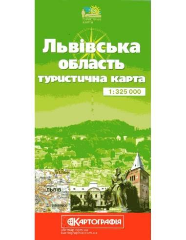 Lvivszka oblaszty - Lvov oblaszty térkép