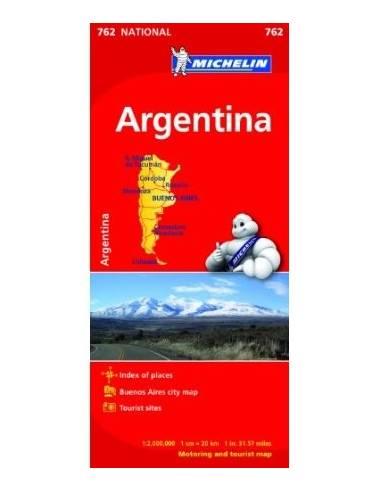 MN 762 Argentína autótérkép