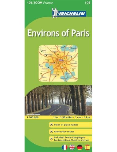 MN 106 ZOOM Environs of Paris -...
