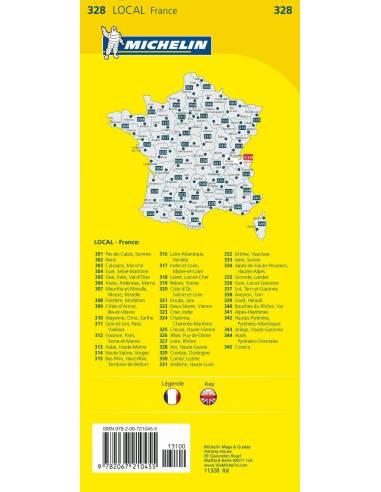 MN 328 Ain, Haute-Savoie térkép