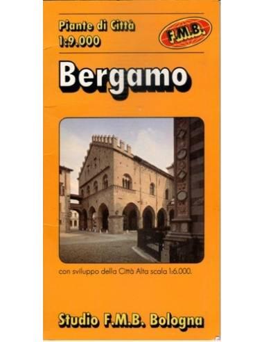 Bergamo térkép
