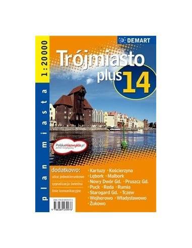Trójmiasto - Hármasváros +14 atlasz