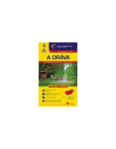 Dráva vízisport és kerékpáros térkép...