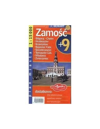 Chelm/Zamosc +9 várostérkép